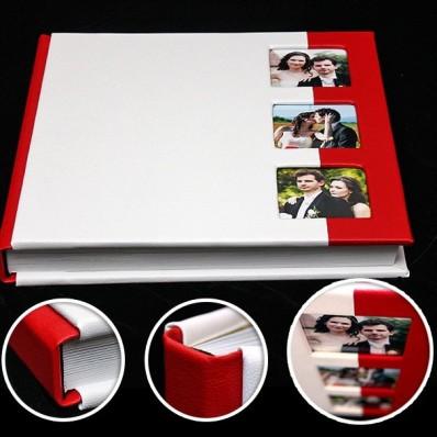 Model A. Album 30x30cm, 2 culori imitatie piele + 3 fotografii - 300 lei