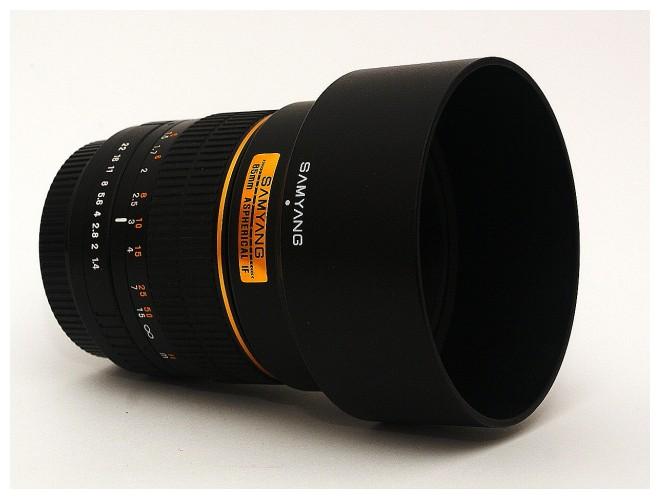 Samyang 85mm f/1,4
